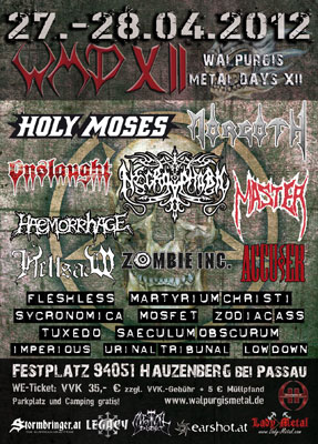 Walpurgis Metaldays powered by Anakonda Music